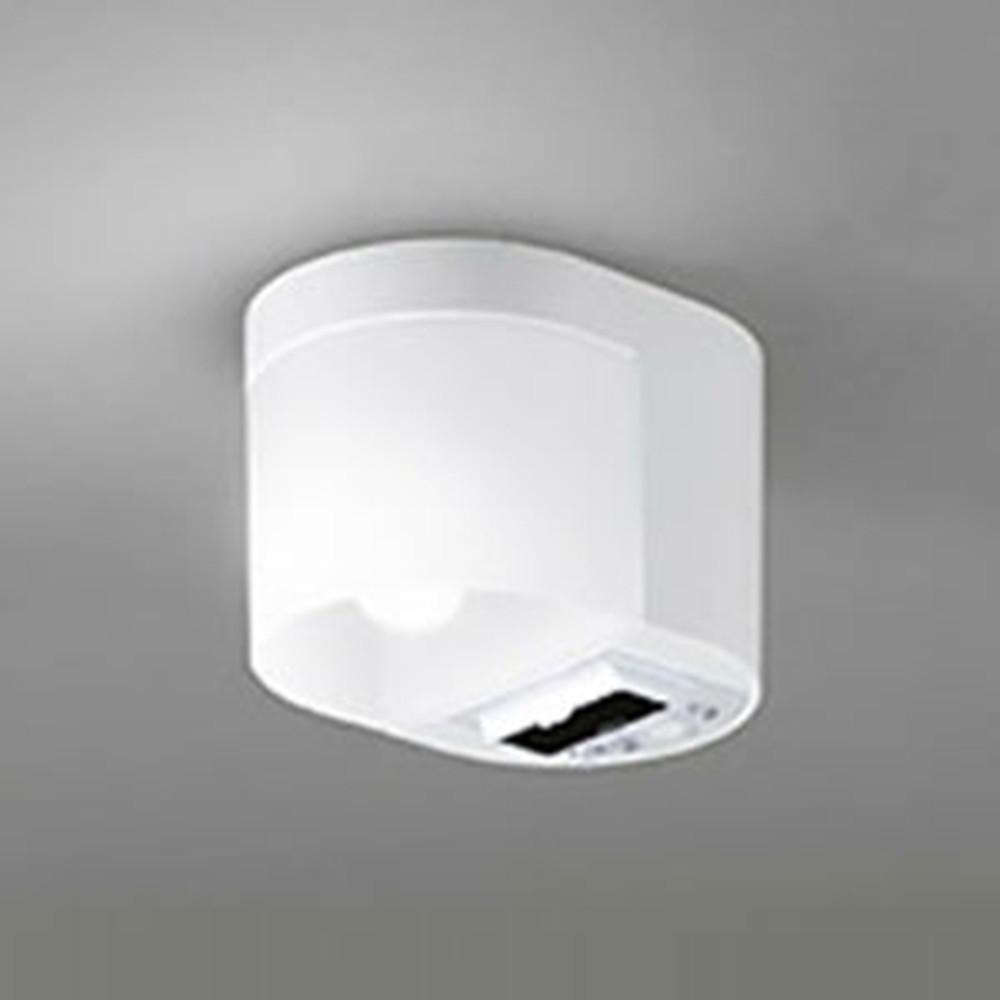 オーデリック LED小型シーリングライト ダブルセンサ付トイレットライト 白熱灯60W相当 電球色 非調光タイプ OL251177LD