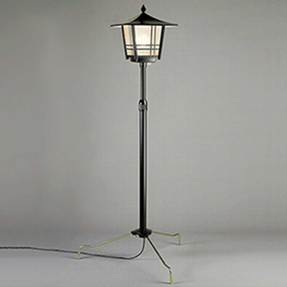 オーデリック LEDガーデンライト 防雨型 白熱灯60W相当 電球色 二重絶縁構造タイプ 埋込深280mm 高さ1640~2300mm 自動点滅器付 OG043062LD