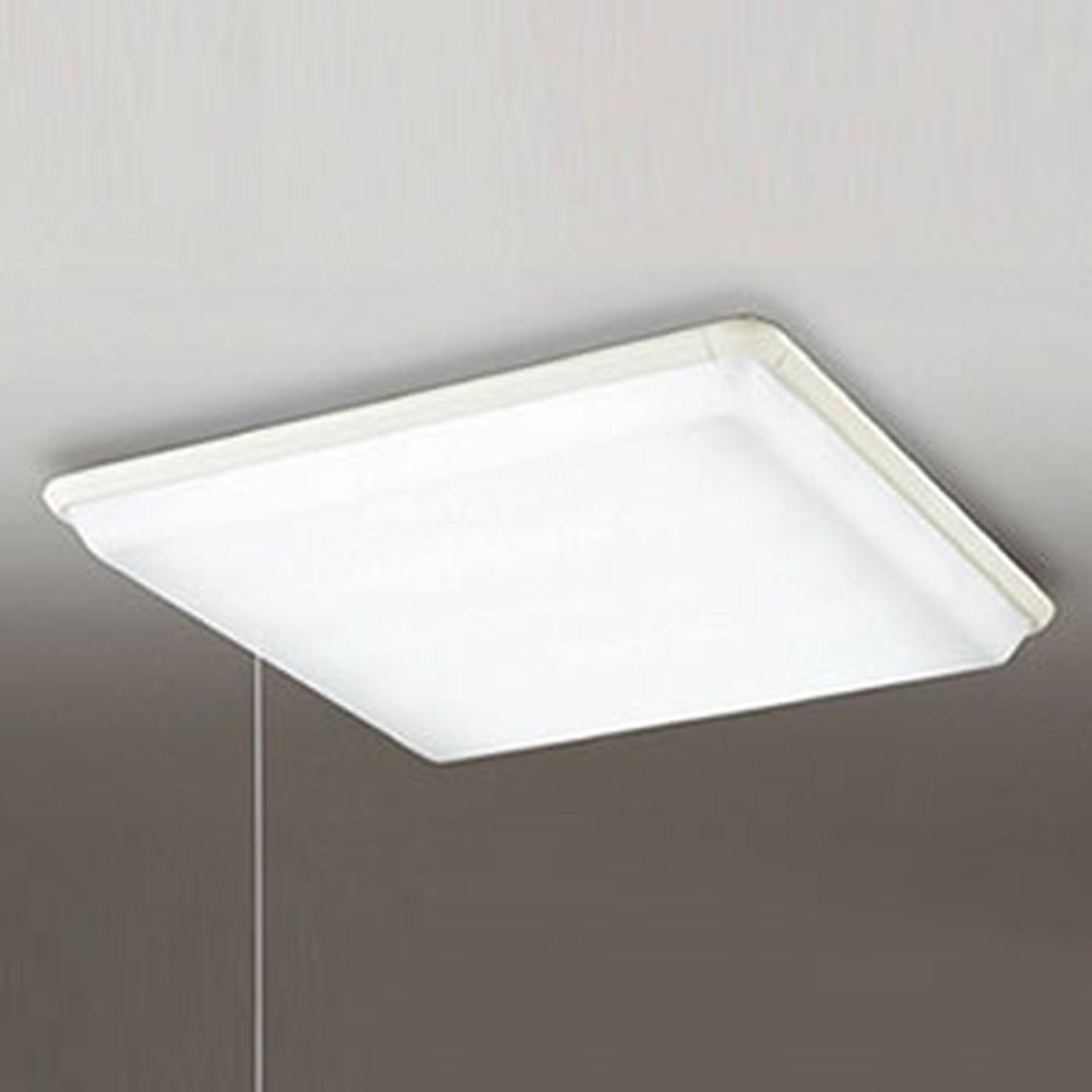 オーデリック LEDシーリングライト ~10畳用 昼白色 段調光タイプ プルスイッチ付 OL251325