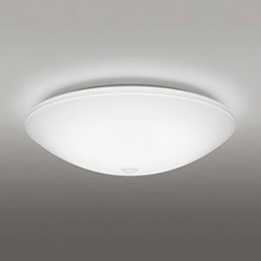 オーデリック LED小型シーリングライト 内玄関用 FCL30W相当 電球色 非調光タイプ 人感センサー付 OL251342