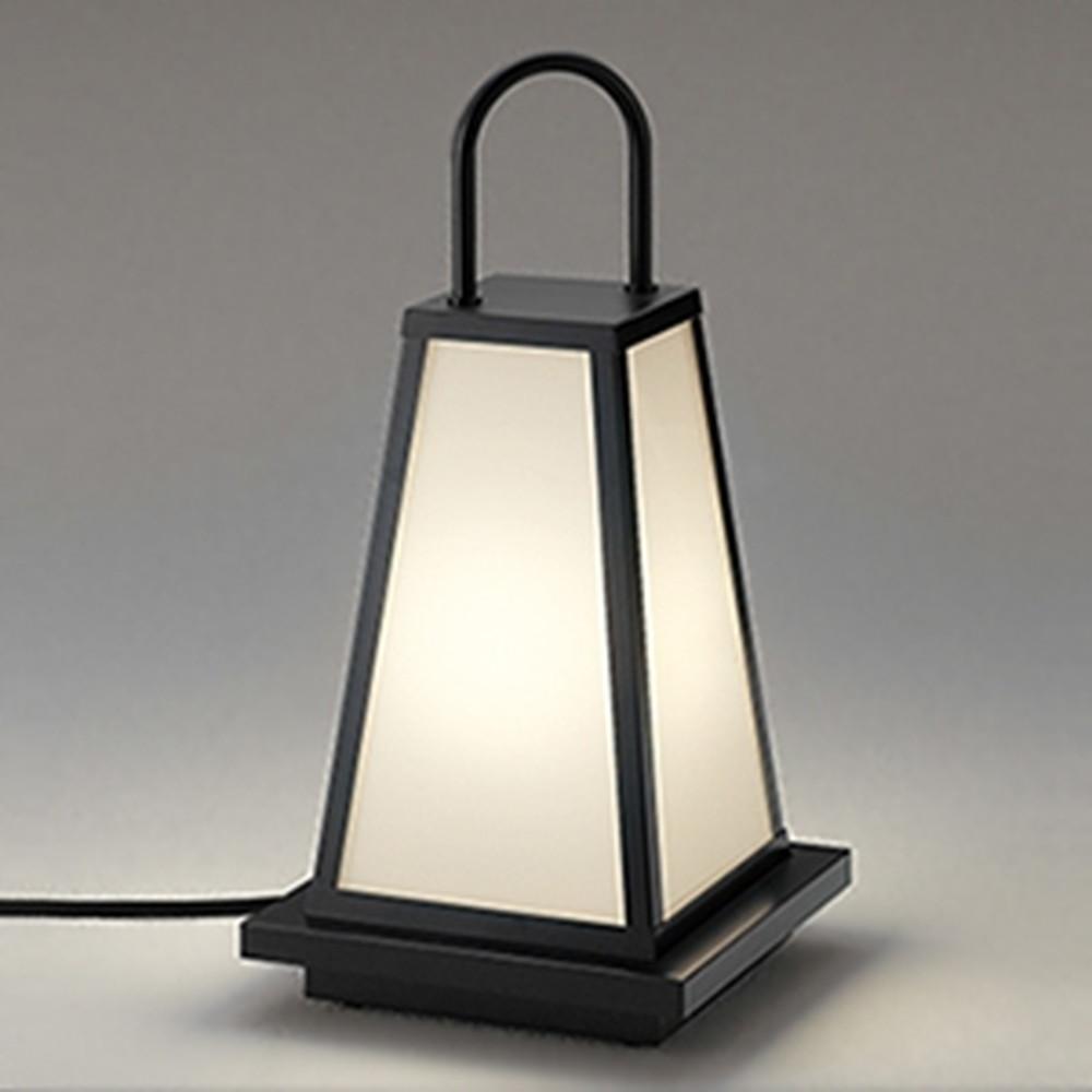 オーデリック LEDガーデンライト 防雨型 白熱灯60W相当 電球色 二重絶縁構造タイプ OG254284LD