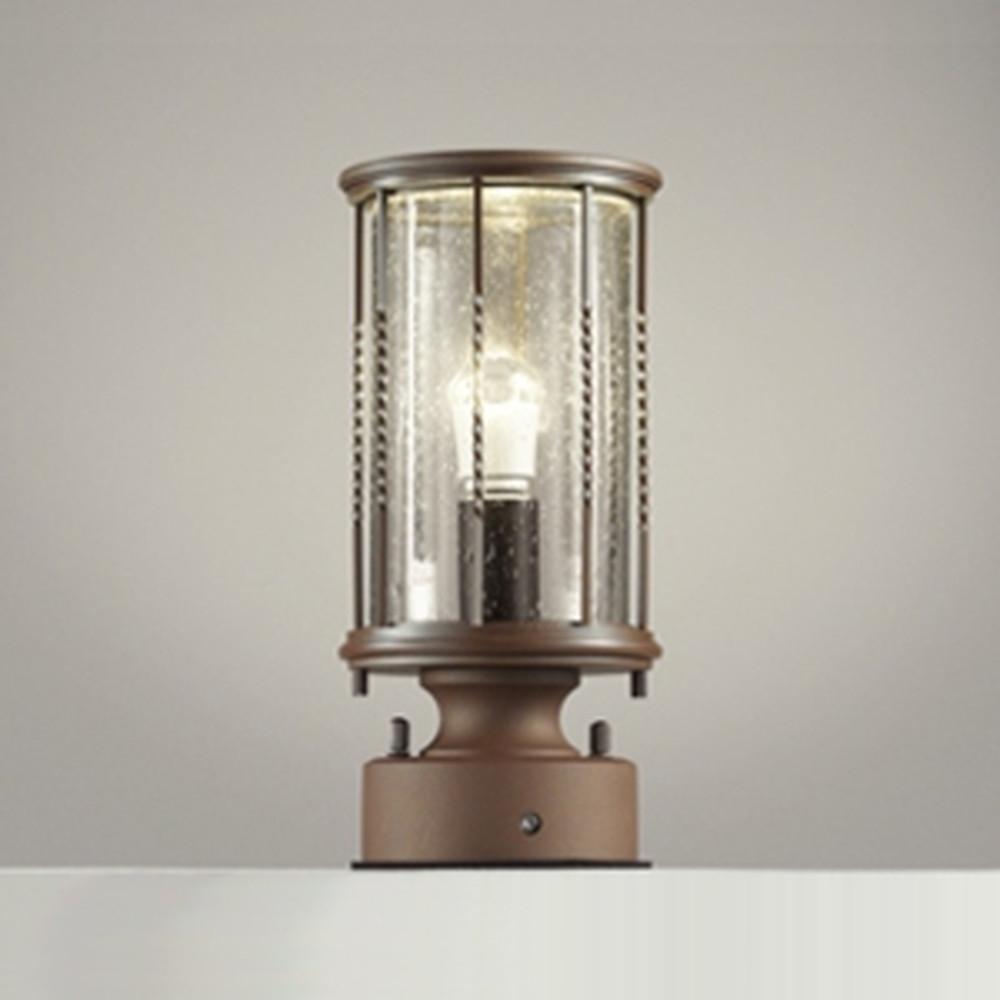 オーデリック LED門柱灯 防雨型 白熱灯40W相当 電球色 明暗センサー付 OG042152LD