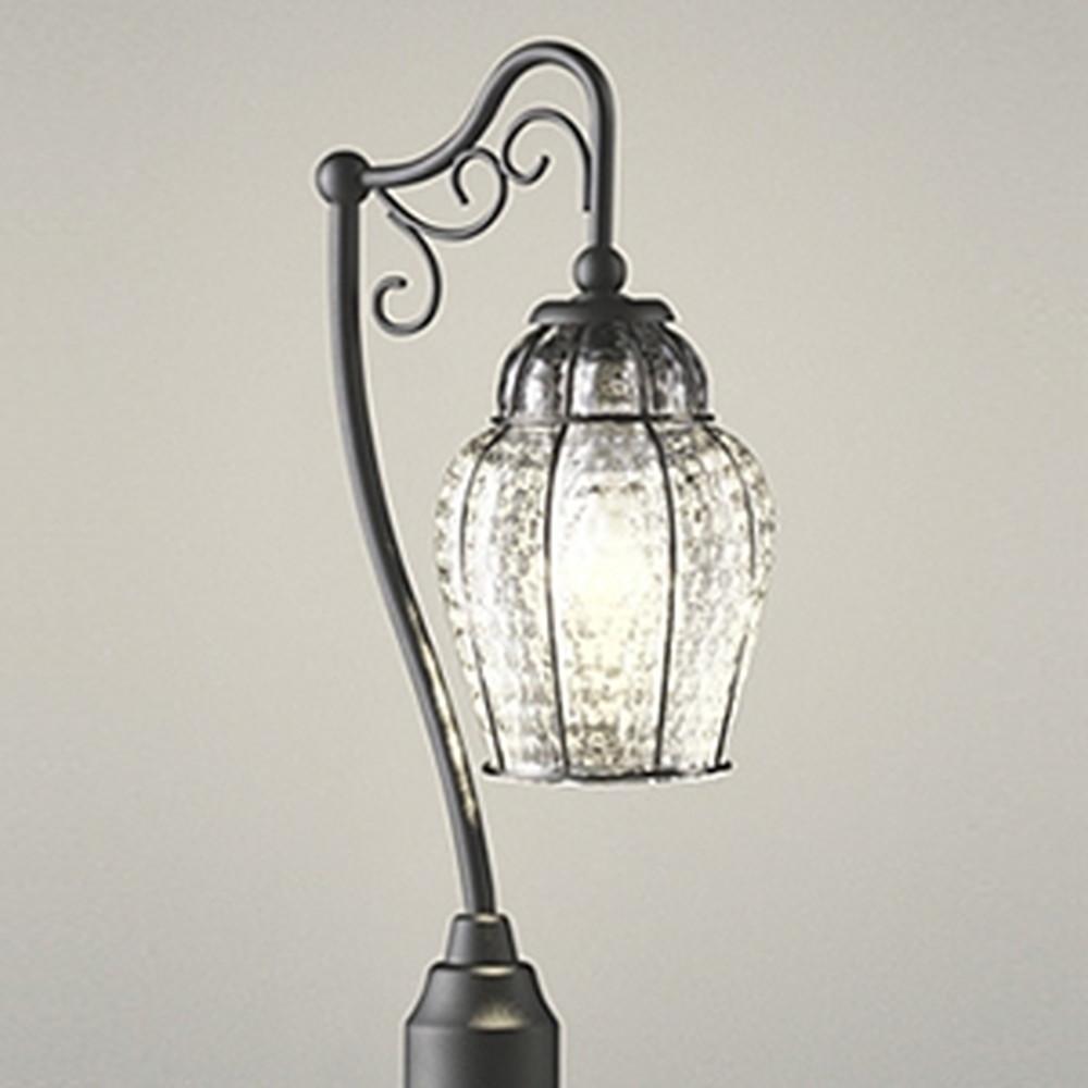 オーデリック LEDガーデンライト 防雨型 白熱灯40W相当 電球色 地上高1324mm 透明 OG043371LD