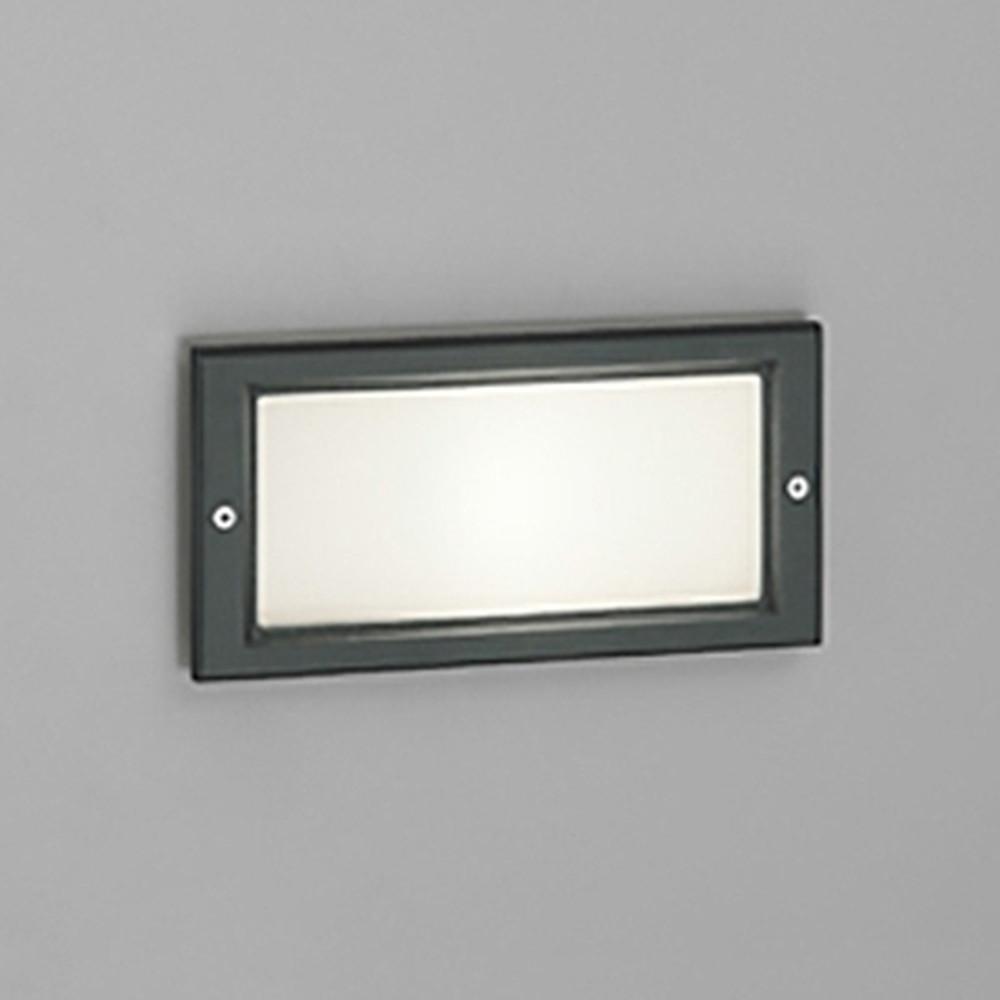 オーデリック LEDフットライト 防雨型 白熱灯40W相当 電球色 黒 OG043411LD