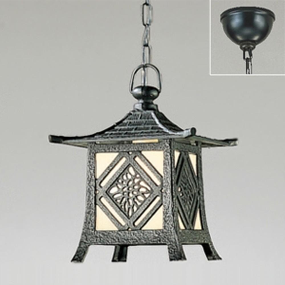 オーデリック LEDガーデンライト 防雨型 軒下取付専用 白熱灯60W相当 電球色 OP035402LD