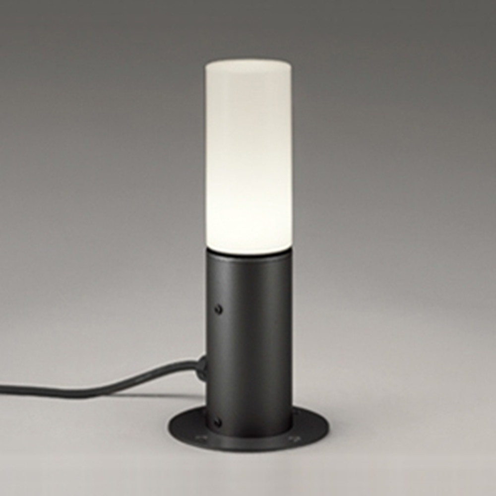 オーデリック LEDガーデンライト 防雨型 置型タイプ 白熱灯60W相当 電球色 黒 OG254422LD