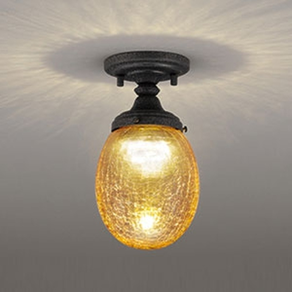 オーデリック LED小型シーリングライト 白熱灯60W相当 電球色 調光タイプ OL251677