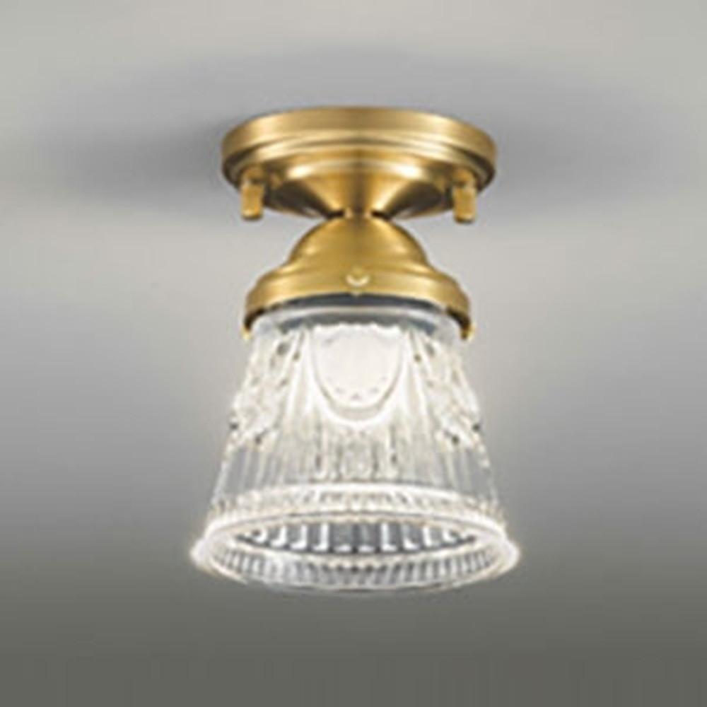 オーデリック LED小型シーリングライト 白熱灯60W相当 電球色 調光タイプ OL251020P1