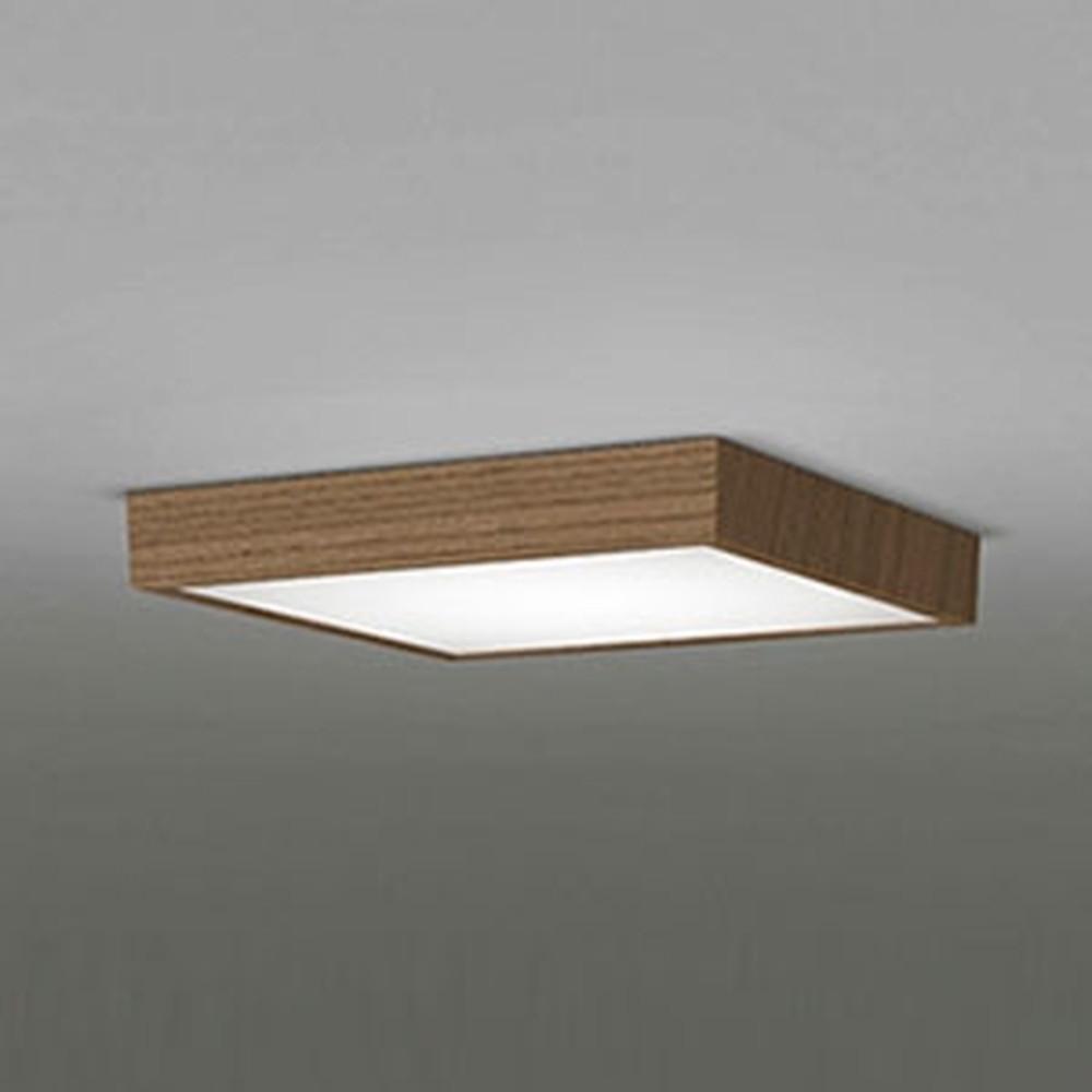 オーデリック LEDシーリングライト FCL30W相当 電球色 連続調光タイプ 木調ウォールナット OL251745