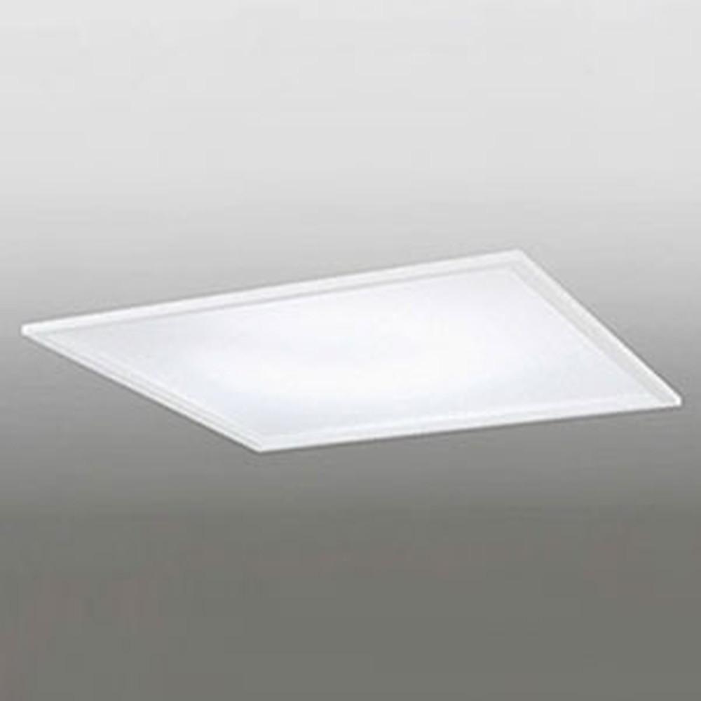 オーデリック LEDシーリングライト ~10畳用 埋込式 浅型タイプ SB形 埋込穴□500mm 電球色~昼光色 調光・調色タイプ リモコン付 OD266019