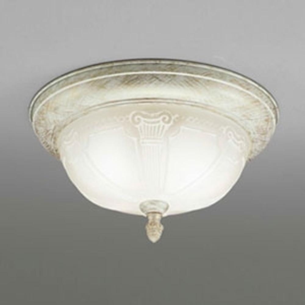 オーデリック LEDシーリングライト 白熱灯60W×2灯相当 電球色 調光タイプ アイボリー OL011103LC