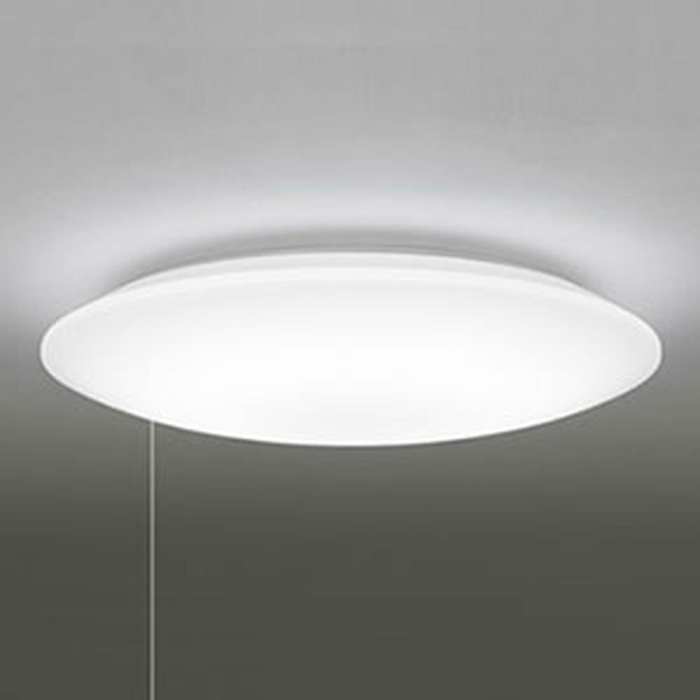 オーデリック LEDシーリングライト ~8畳用 電球色 調光タイプ プルスイッチ付 OL251602L1