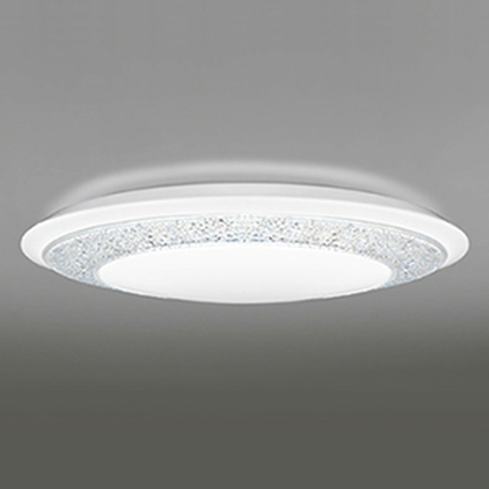 オーデリック LEDシーリングライト ~12畳用 《GIRA-deco》 電球色~昼光色 調光・調色タイプ Bluetooth®対応 OL251597BC