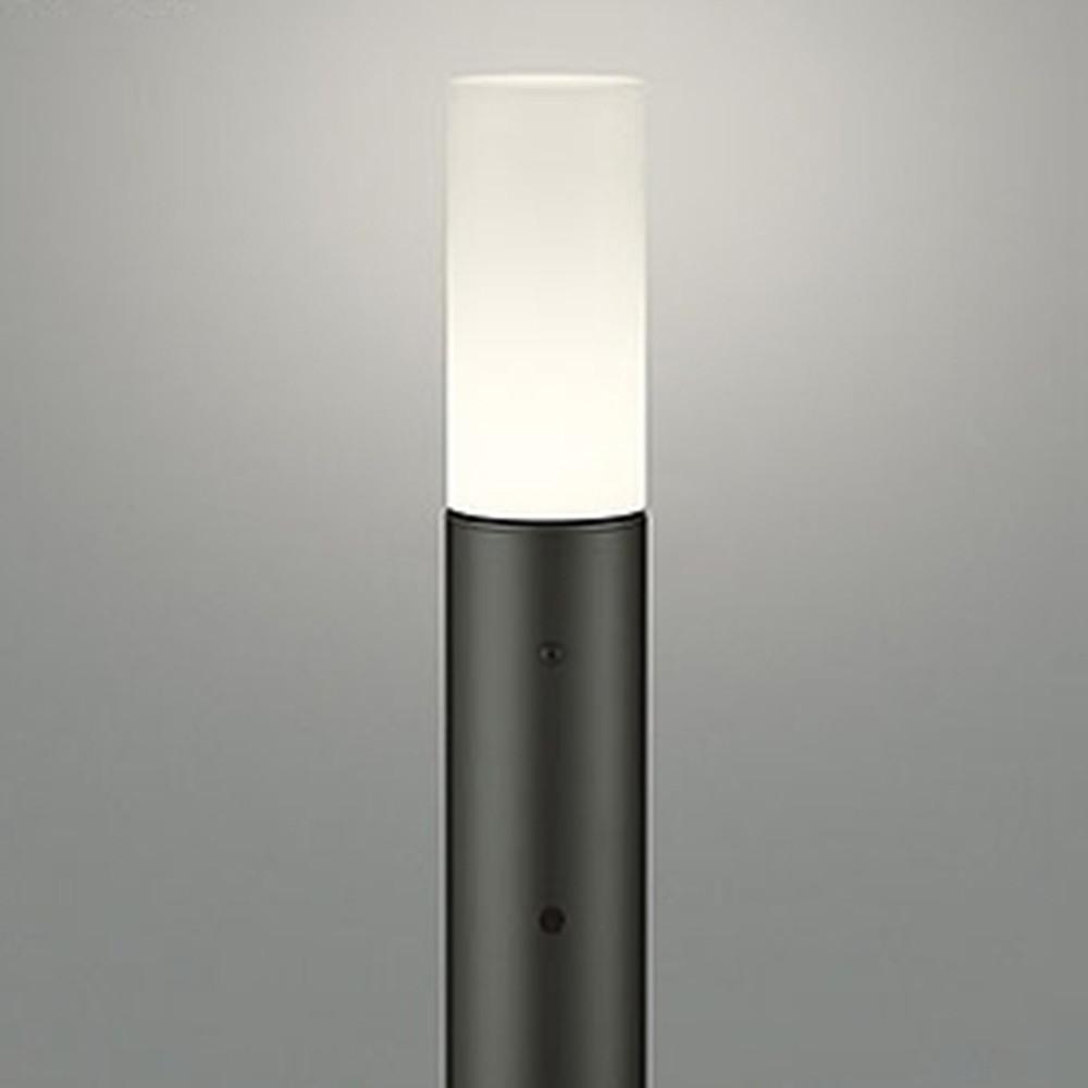 オーデリック LEDガーデンライト 防雨型 白熱灯60W相当 電球色 明暗センサー付 地上高1000mm 黒 OG254408LD1