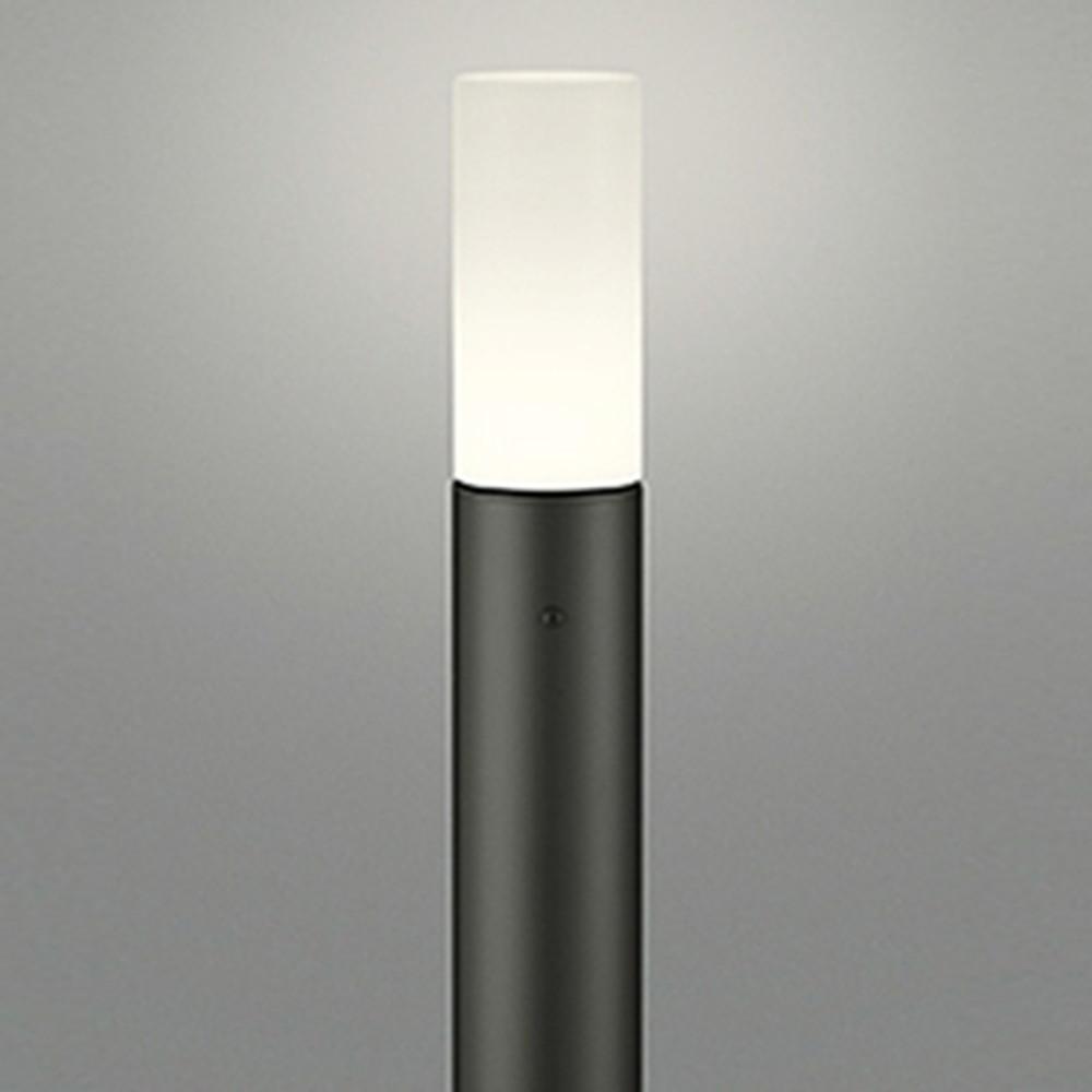 オーデリック LEDガーデンライト 防雨型 白熱灯60W相当 電球色 地上高1000mm 黒 OG254410LD1