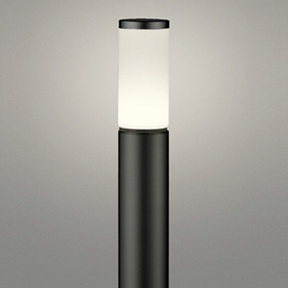 オーデリック LEDガーデンライト 防雨型 白熱灯60W相当 電球色 地上高1000mm 黒 OG254653LD