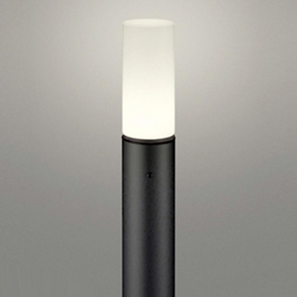 オーデリック LEDガーデンライト 防雨型 白熱灯60W相当 電球色 地上高700mm 黒 OG254667LD