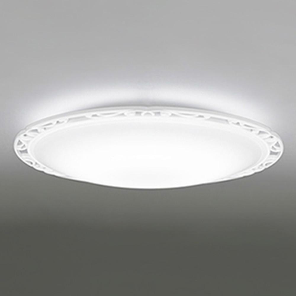 オーデリック LEDシーリングライト ~8畳用 電球色~昼光色 調光・調色タイプ Bluetooth®対応 マットホワイト OL251040BC