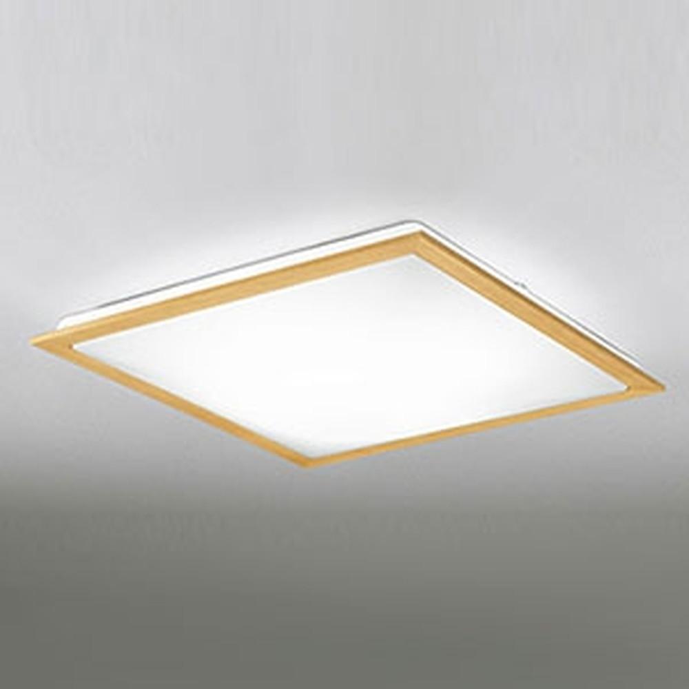 オーデリック LEDシーリングライト ~12畳用 電球色~昼光色 調光・調色タイプ リモコン付 ナチュラル OL251629P1