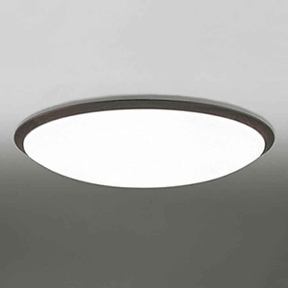 オーデリック LEDシーリングライト ~14畳用 電球色~昼光色 調光・調色タイプ Bluetooth®対応 エボニーブラウン OL251260BC