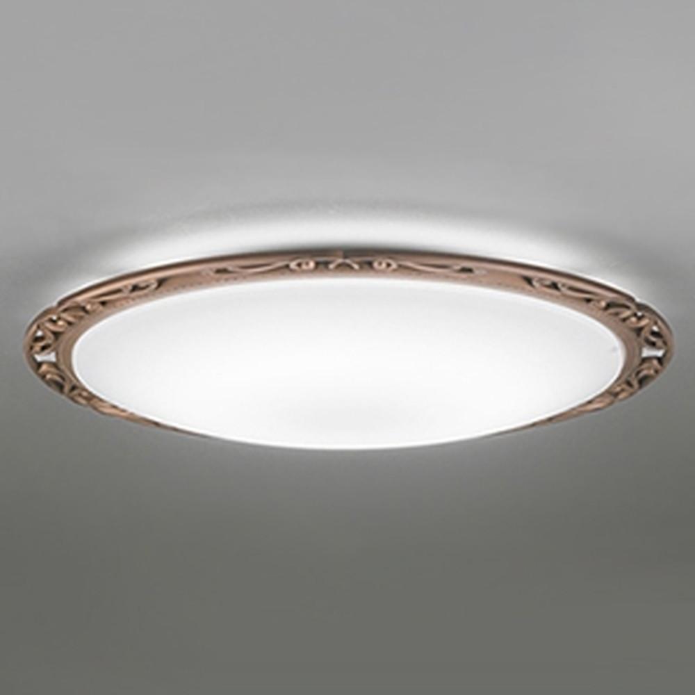 オーデリック LEDシーリングライト ~8畳用 電球色~昼光色 調光・調色タイプ Bluetooth®対応 銅古味 OL291008BC