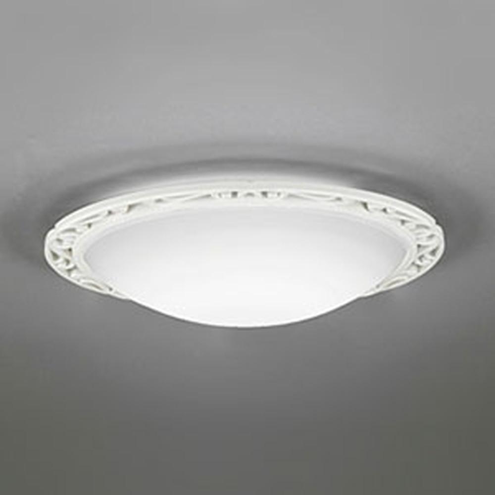 オーデリック LEDシーリングライト FCL30W相当 電球色 非調光タイプ マットホワイト OL291100LD