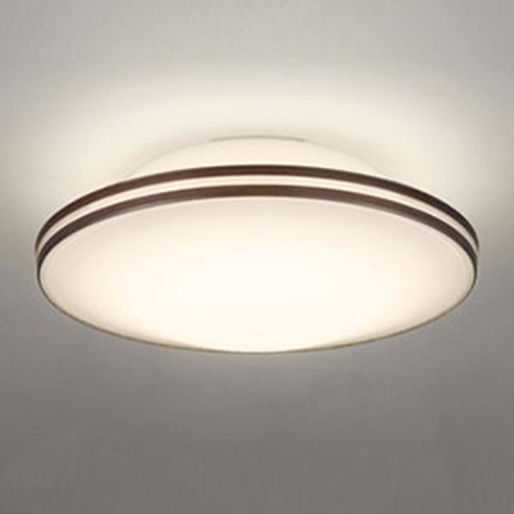 オーデリック LED小型シーリングライト FCL30W相当 電球色⇔昼白色 光色切替調光タイプ エボニーブラウン OL291115PC