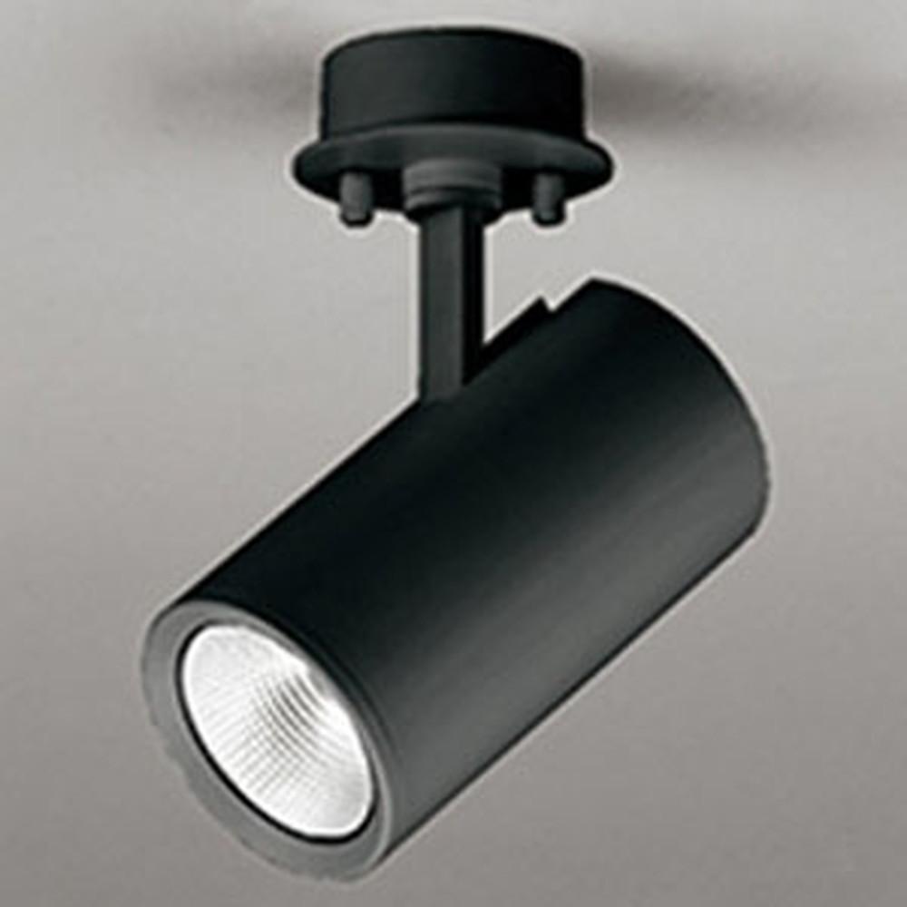 オーデリック LEDスポットライト フレンジタイプ 白熱灯100Wクラス 電球色 連続調光 ミディアム配光23° 黒 OS256508