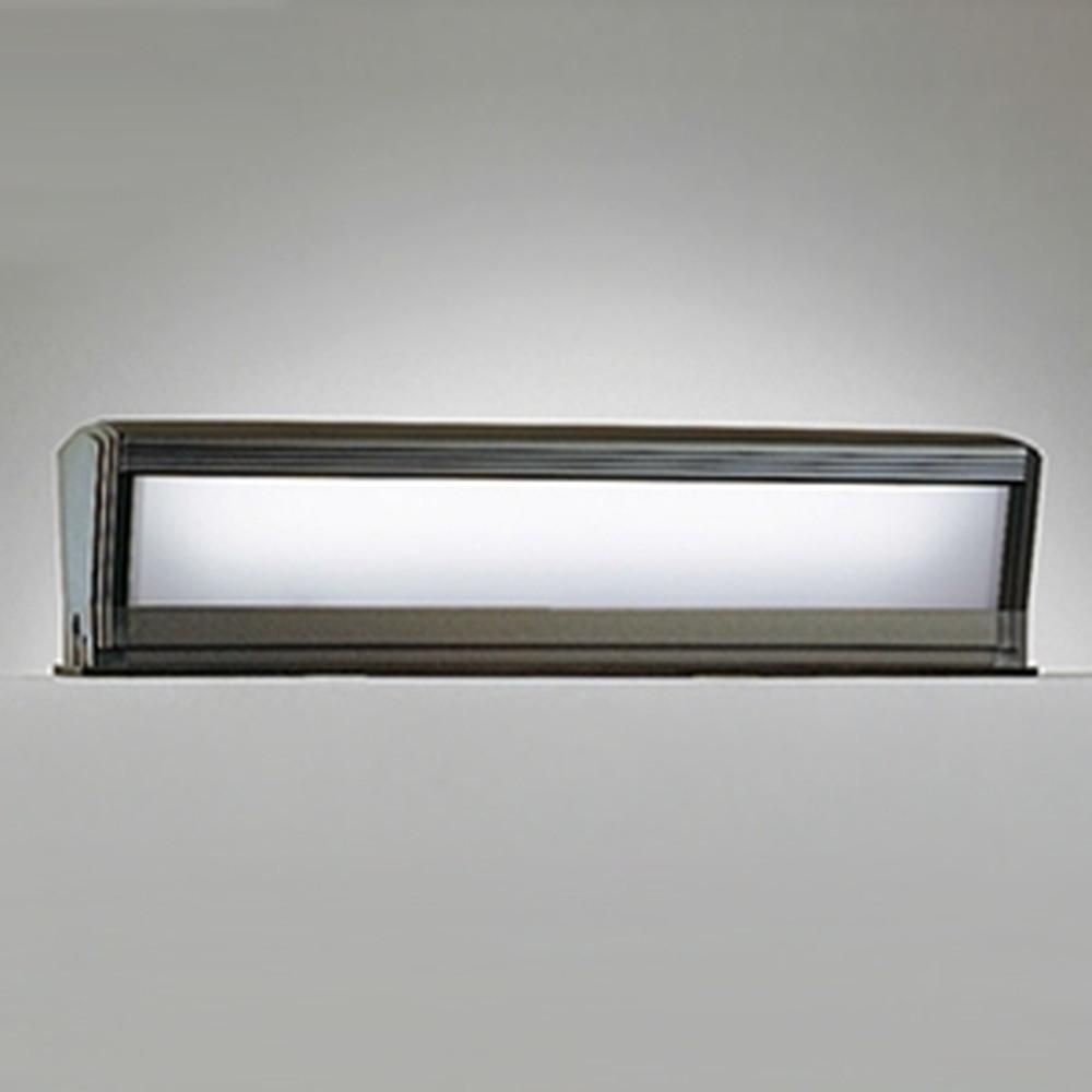 オーデリック LED門柱灯 防雨型 FL15W相当 昼白色 明暗センサー付 OG254457P1