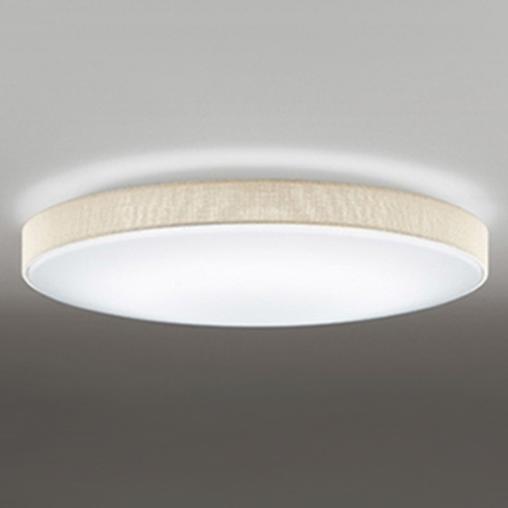 オーデリック LEDシーリングライト ~12畳用 電球色~昼光色 調光・調色タイプ 青tooth®対応 アイボリー OL251669BC1