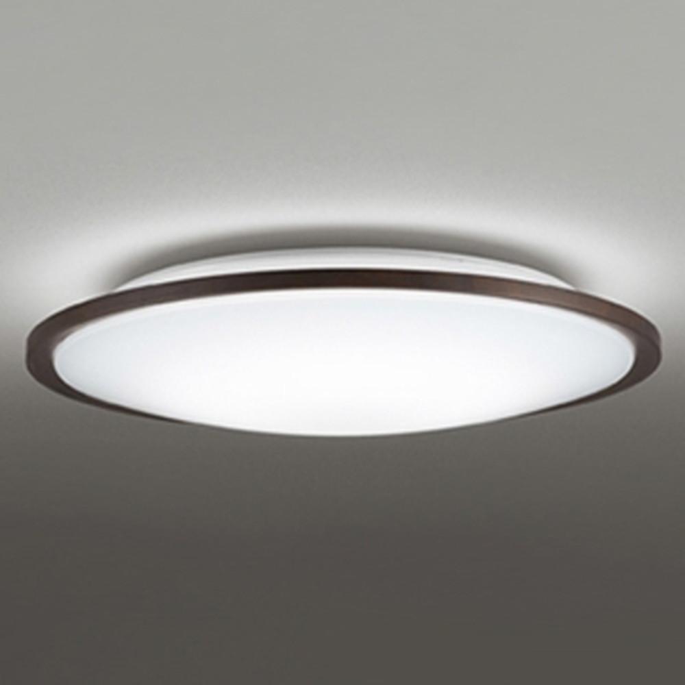 オーデリック LEDシーリングライト ~8畳用 電球色~昼光色 調光・調色タイプ Bluetooth®対応 エボニーブラウン OL291319BC