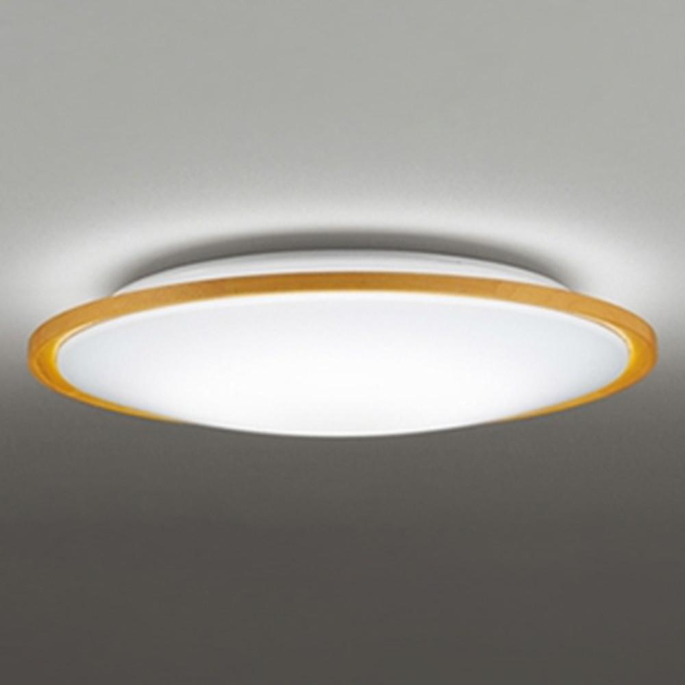オーデリック LEDシーリングライト ~8畳用 電球色~昼光色 調光・調色タイプ Bluetooth®対応 ナチュラル OL291327BC
