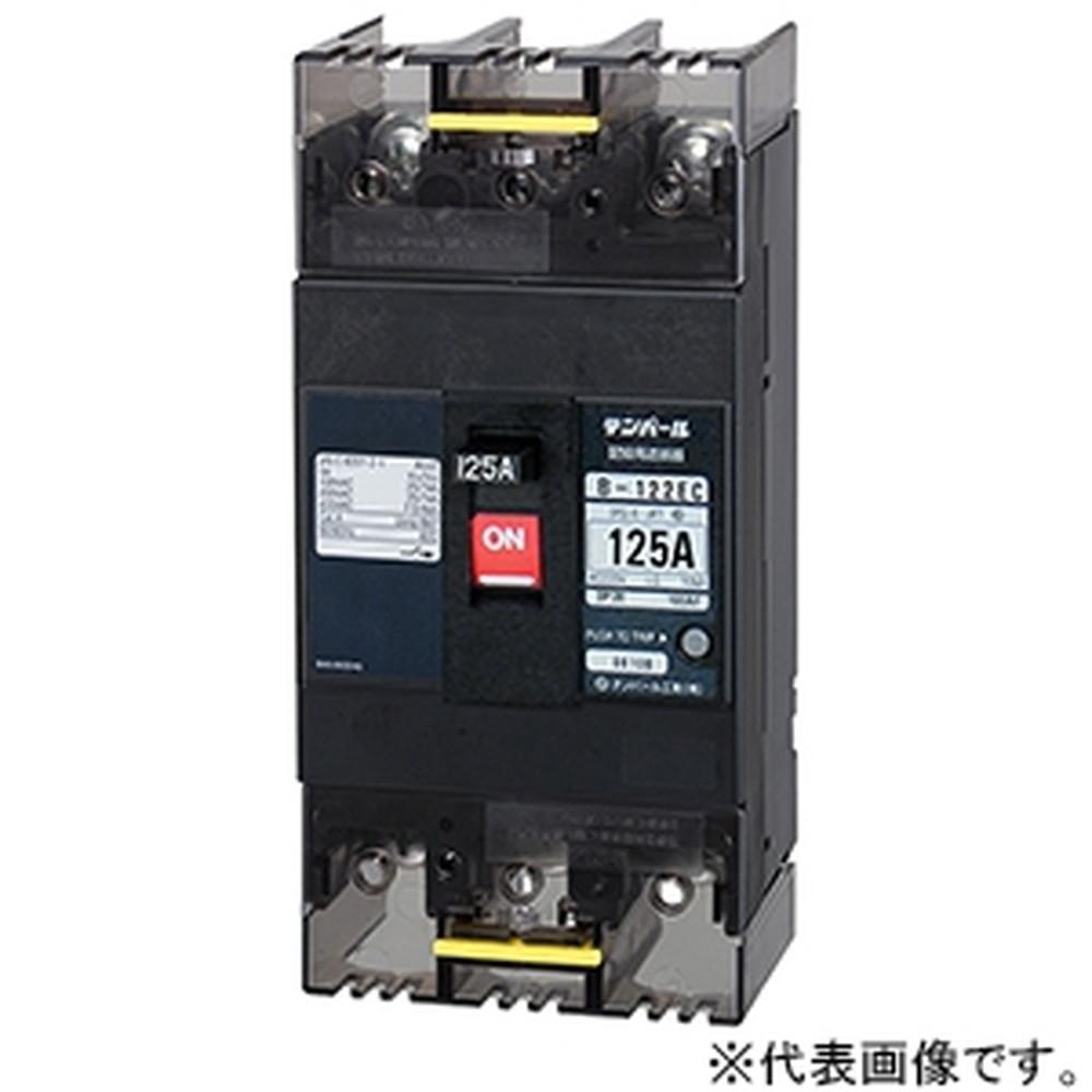 テンパール工業 配線用遮断器 表面形 2P2E125AF 125A 経済タイプ B122EC12
