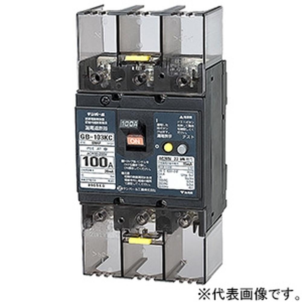 テンパール工業 漏電遮断器 3P3E100AF 100A 103KC1030
