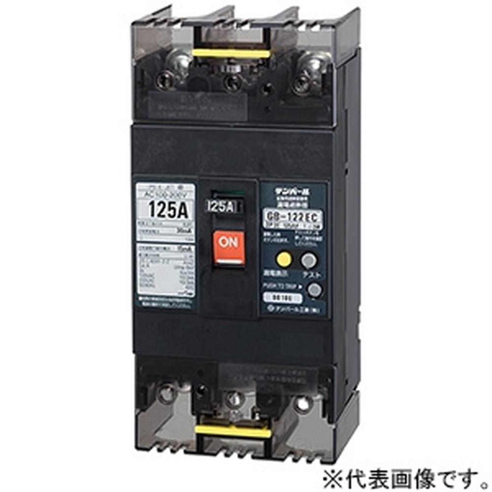 テンパール工業 漏電遮断器 2P2E125AF 100A 122EC1030