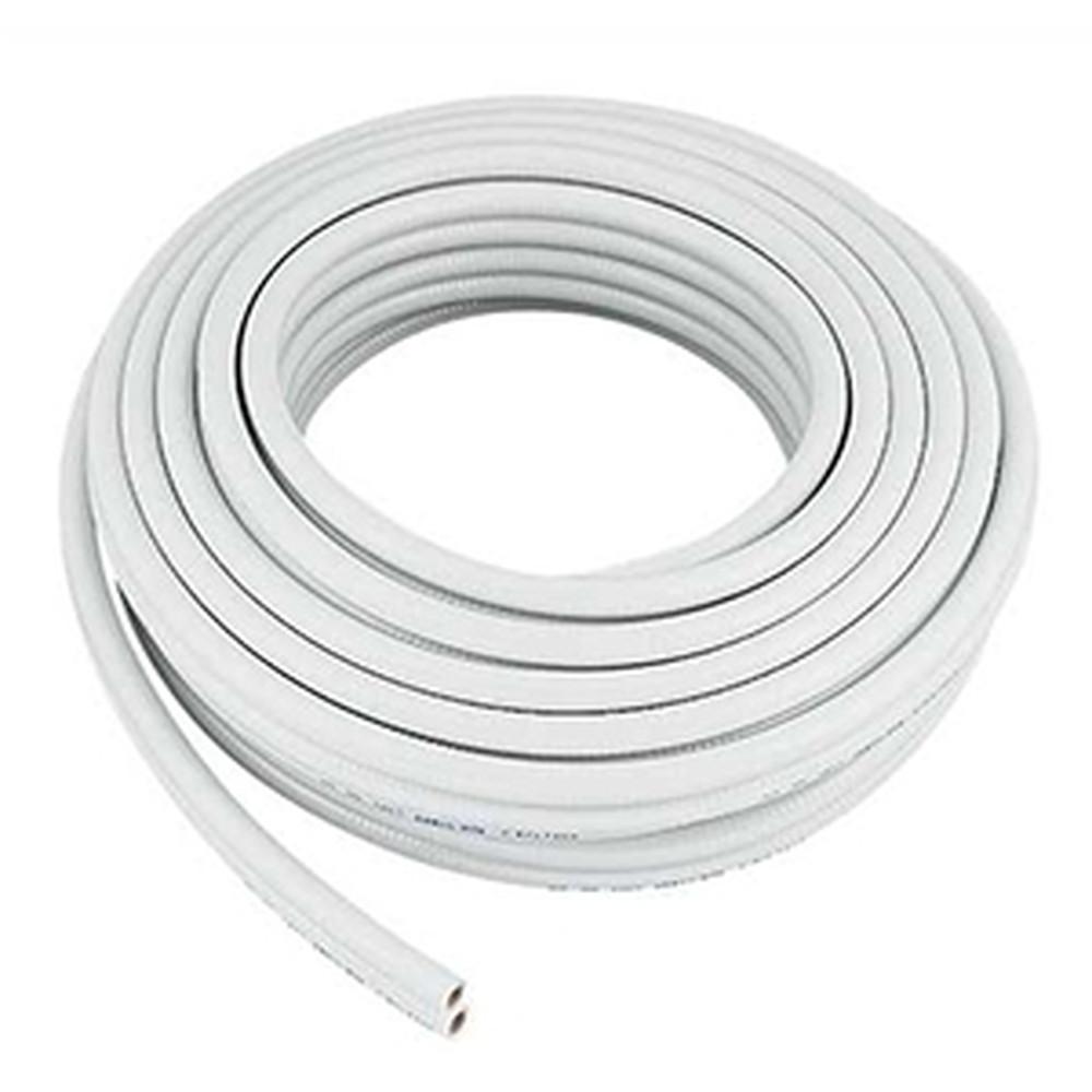 カクダイ 巻ペアホース10A 追焚付給湯機から一口循環金具までの配管用 呼び10 内径9.5×外径16.5mm 長さ20m PVC製 413-421-10