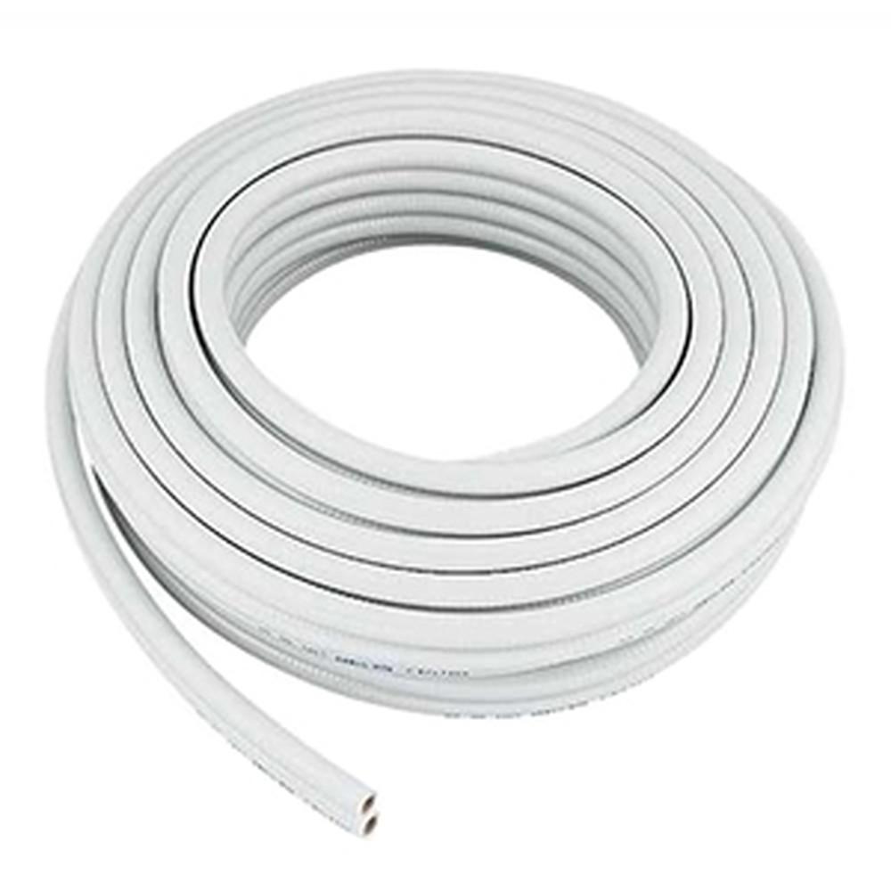カクダイ 巻ペアホース 追焚付給湯機から一口循環金具までの配管用 呼び13 内径12.7×外径22.5mm 長さ20m PVC製 413-421-13
