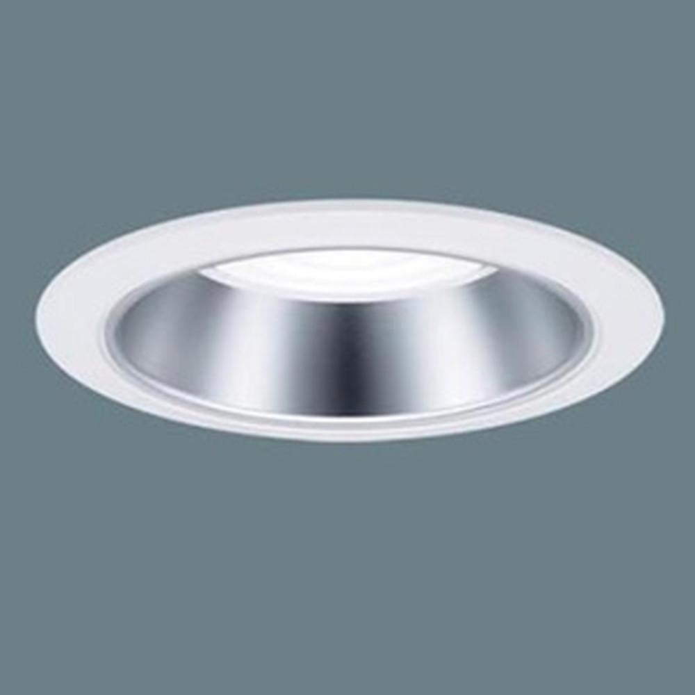 パナソニック LEDダウンライト 埋込穴φ100 一般タイプ 水銀灯100形器具相当 電球色 ビーム角80° 電源ユニット内蔵 銀色鏡面反射板 XND2531SLLE9