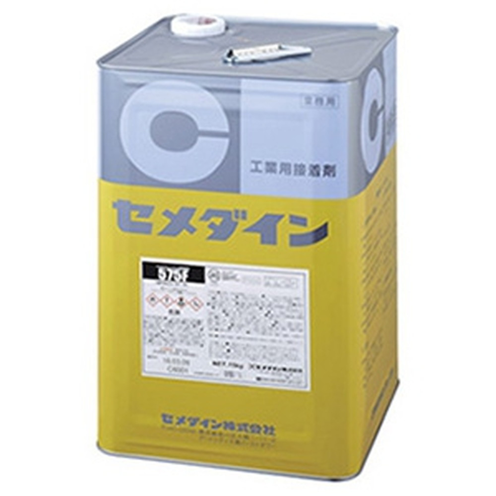 セメダイン クロロプレンゴム系溶剤形接着剤 《575F》 多用途 容量15kg RK-131