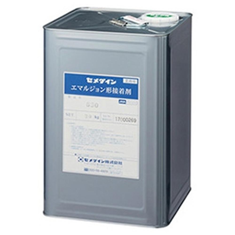セメダイン エマルション接着剤 《630》 紙工用 水性 無溶剤タイプ 容量20kg AE-094