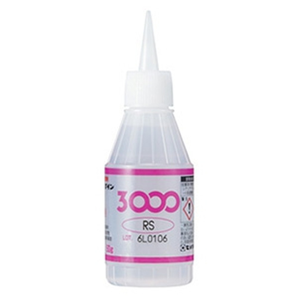 セメダイン 【ケース販売特価 20個セット】 瞬間接着剤 《3000RS》 容量50g AC-013_set