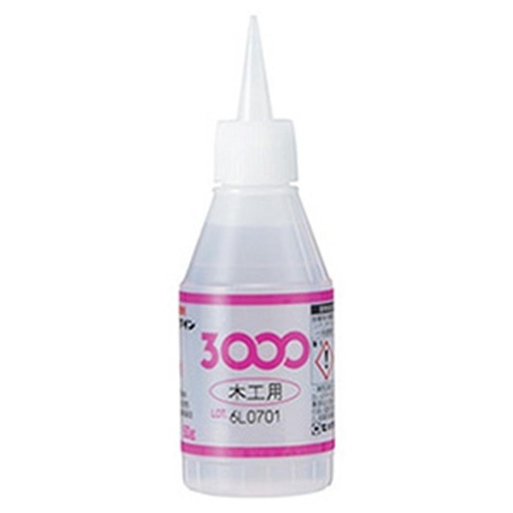 セメダイン 【ケース販売特価 20個セット】 瞬間接着剤 《3000木工用》 容量50g AC-002_set