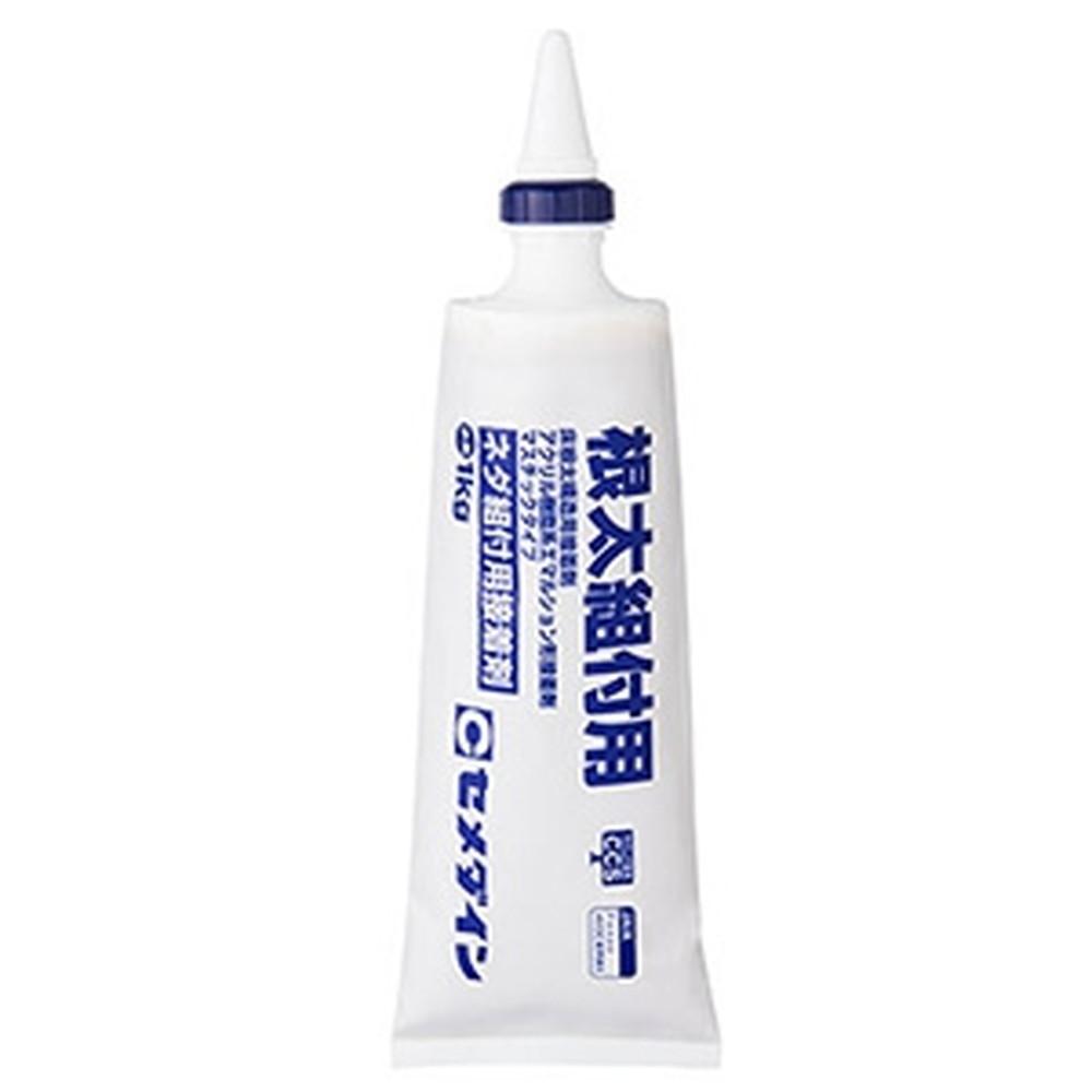 セメダイン 【ケース販売特価 12個セット】 根太組付用接着剤 水性 容量1kg AE-276_set
