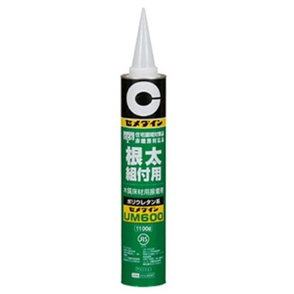 セメダイン 【ケース販売特価 12個セット】 木質床材用接着剤 《UM600》 無溶剤タイプ 容量1100g AR-234_set