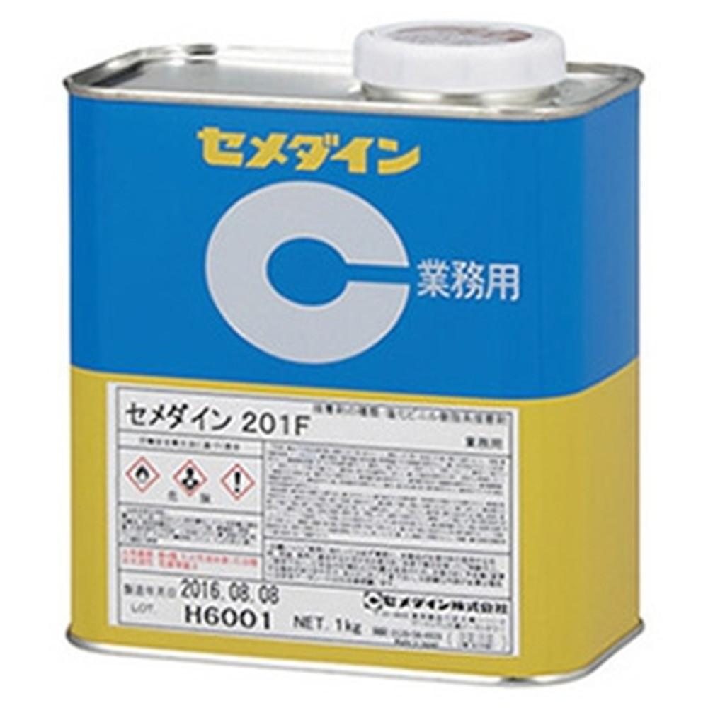 セメダイン 【ケース販売特価 20個セット】 樹脂系溶剤形接着剤 《201F》 塩化ビニル系統 容量1kg AR-118_set