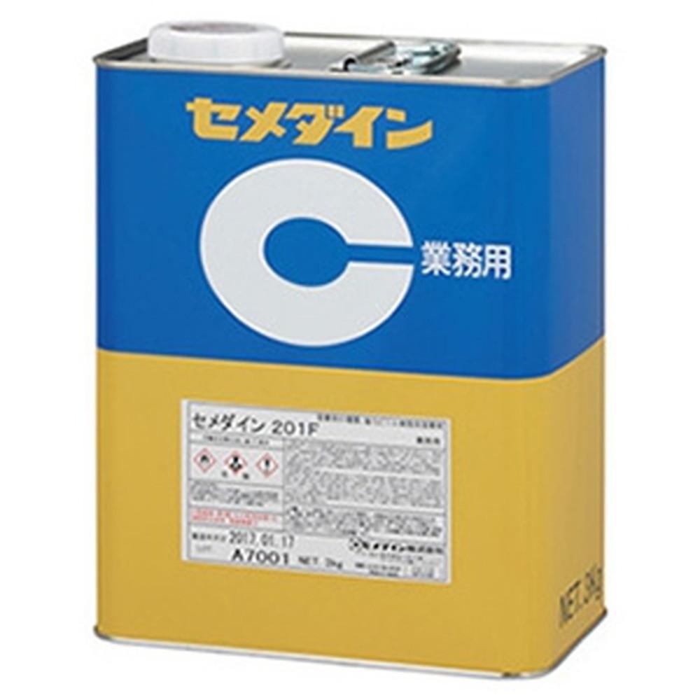 セメダイン 【ケース販売特価 6個セット】 樹脂系溶剤形接着剤 《201F》 塩化ビニル系統 容量3kg AR-119_set