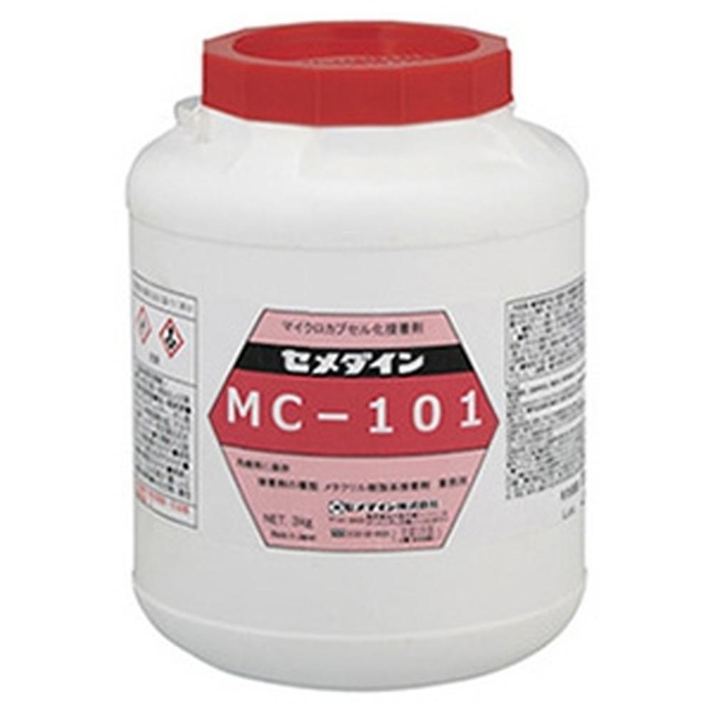 セメダイン 【ケース販売特価 6個セット】 マイクロカプセル接着剤 《MC101》 多用途・速硬化タイプ 容量3kg AY-001_set
