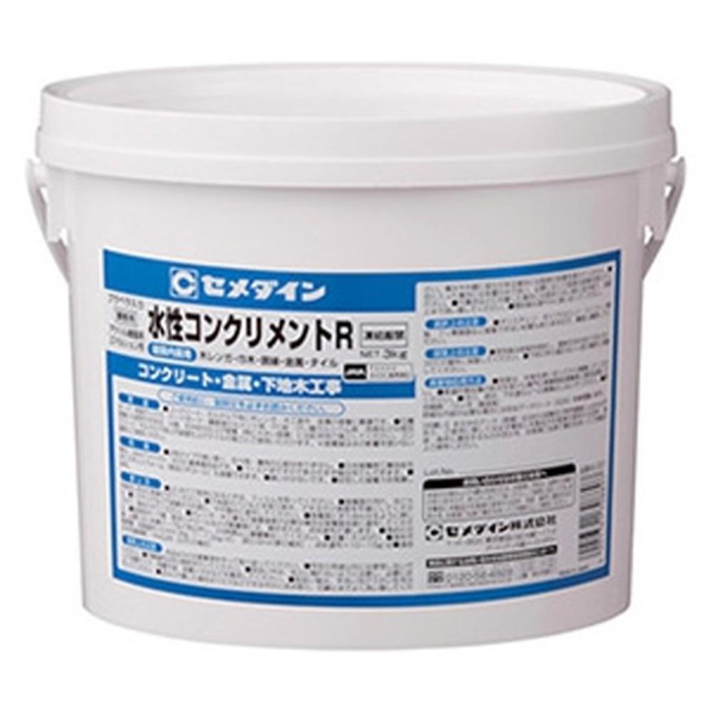 セメダイン 【ケース販売特価 6個セット】 内装用接着剤 《水性コンクリメントR》 容量3kg プラベラ1本付 AE-221_set