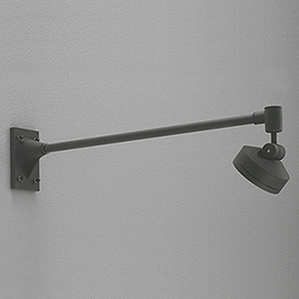 オーデリック LEDスポットライト 防雨型 ビーム球150W相当 LED×8灯 電球色 ミディアム配光 ブラック OG254136