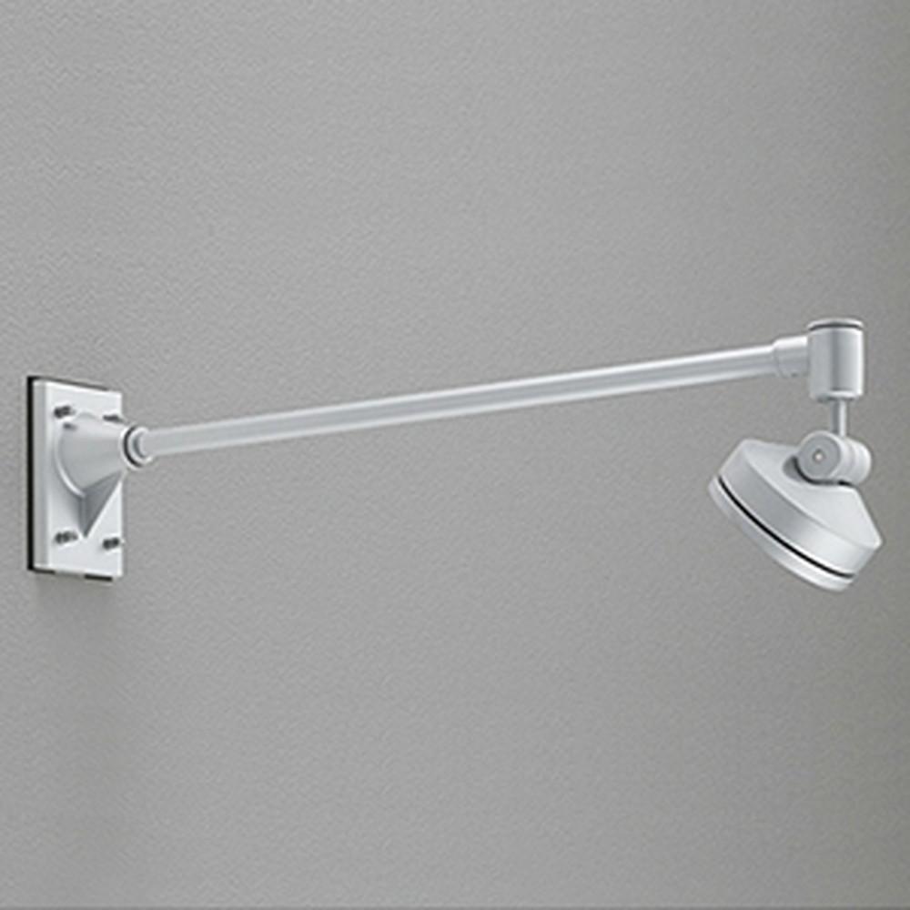 オーデリック LEDスポットライト 防雨型 ビーム球150W相当 LED×8灯 昼白色 ミディアム配光 マットシルバー OG254137